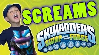 Skylanders Swap Force Screams Collection (How Skylander