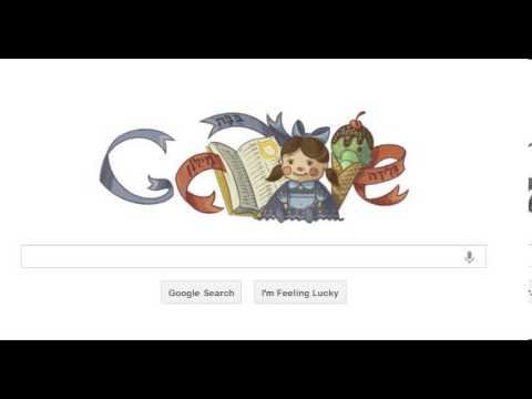 google doodle eliezer ben yehuda       