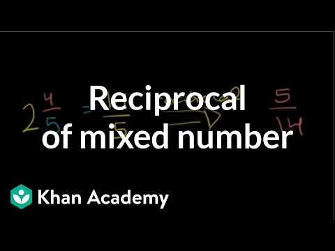 Reciprocal of a Mixed Fraction