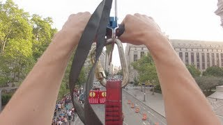 Zip-Lining in NYC (First-Person POV) view on youtube.com tube online.