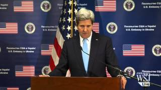 Kerry Warns Russia of Further Steps