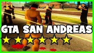 GTA : San Andreas 6 ÉTOILES + CODES = EPIC :)