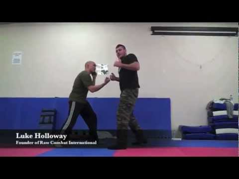 BRUTAL STREET FIGHTING TECHNIQUES - Upper Cut Defense with Luke Holloway
