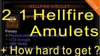 Diablo 3 Reaper Of Souls: Patch 2.1 Hellfire Amulet + Step