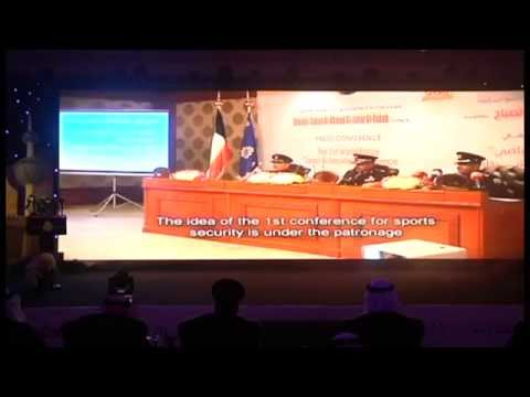 OPENING CERAMONY USIP CONFERENCE (SPORT TO SERVE AND PROTECT) KUWAIT 2014   PART (1)
