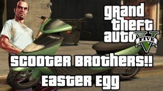 GTA 5: Scooter Brothers!! Easter Egg (Grand Theft Auto 5