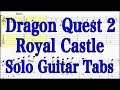 王城 Dragon Quest2 ソロギターtab譜