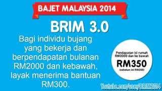 BR1M 2014 BRIM 3.0 2014