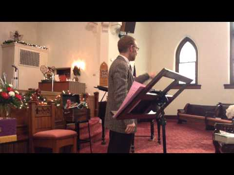12/8/2013 Covington Presbyterian Scripture & Children's Sermon