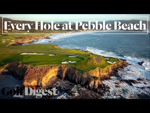Pebble Beach ~ All 18 holes