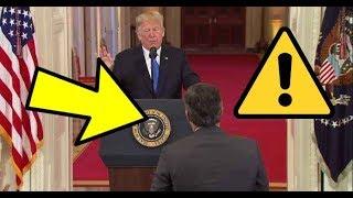 Jim Acosta has Epic MELTDOWN at President Trump Press Conference