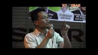 YB Nik Nazmi: Najib takut jawab skandal kapal selam Scorpene di Parlimen!