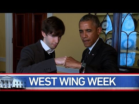 """West Wing Week 06/13/14 or, """"I Am Hip To All These Things"""""""