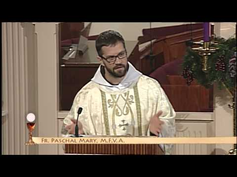 EWTN Daily Catholic Mass - 2013-12- 7 Fr. Paschal Mary - Saint Ambrose