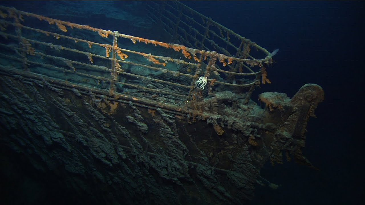titanic ship underwater - photo #17