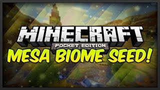 [0.9.0] Minecraft Pocket Edition: Mesa Biome Seed W/Caves