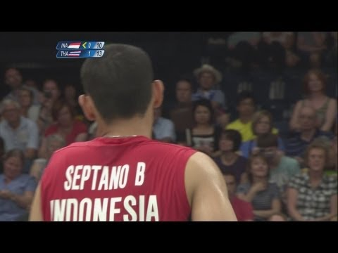 Badminton Men's Doubles - Grp B - Indonesia v Thailand Full Replay -- London 2012 Olympic Games