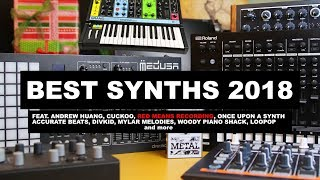 BEST SYNTHESIZERS & MUSIC PRODUCTION GEAR 2018