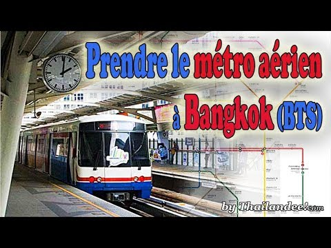 transports à bangkok: bts le métro aérien (skytrain)
