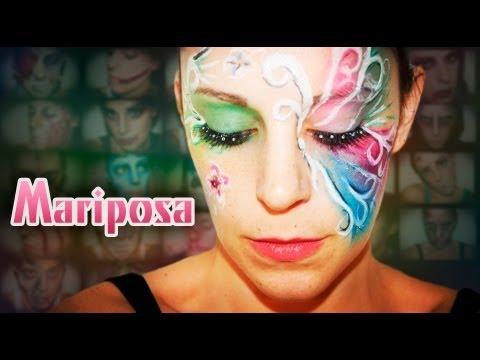 Maquillaje Carnaval: Mariposa  | Silvia Quiros
