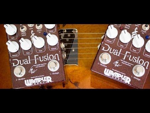 Wampler Tom Quayle Dual Fusion Signature Distortion Pedal