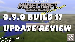Minecraft Pocket Edition 0.9.0 Build 11 Update Review