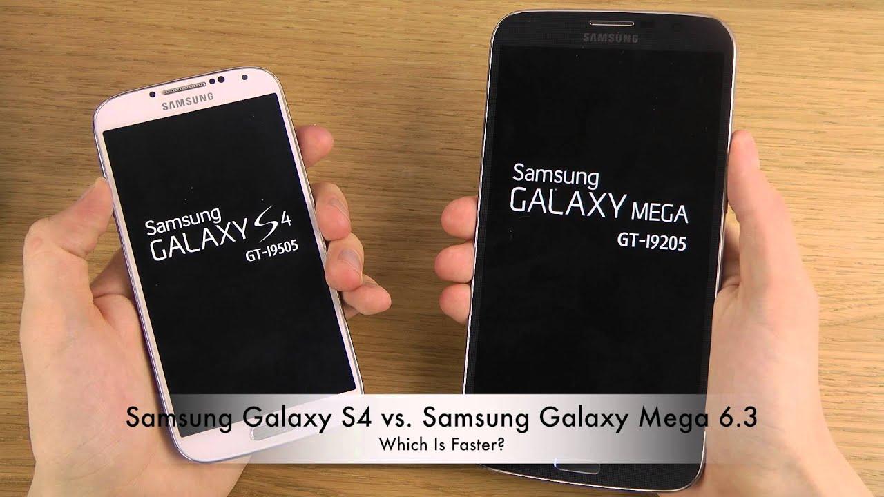 Samsung Galaxy Mega 6.3 vs S4