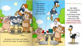 The Ostrich That Could Fly story, English Stories for learners