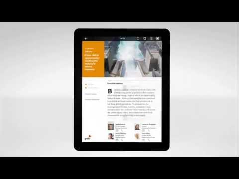 PwC's 365: Advancing business thinking every day with our iPad app