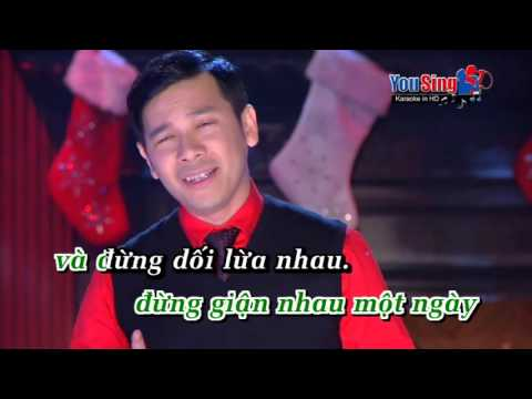 Mua Dong Ve Chua Em   Karaoke   DTLuan
