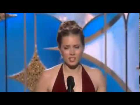Amy Adams Wins Golden Globe Awards 2014