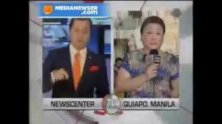 Watch: Rude attitude of Noli De Castro to Winnie Cordero On-air