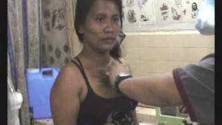Tattoo On Boobs: Filipina Bar Girl Gets A Chest Piece