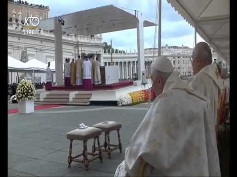 Pope Francis  Apr 27 2014  Canonization of Pope John XXIII and Pope John Paul II