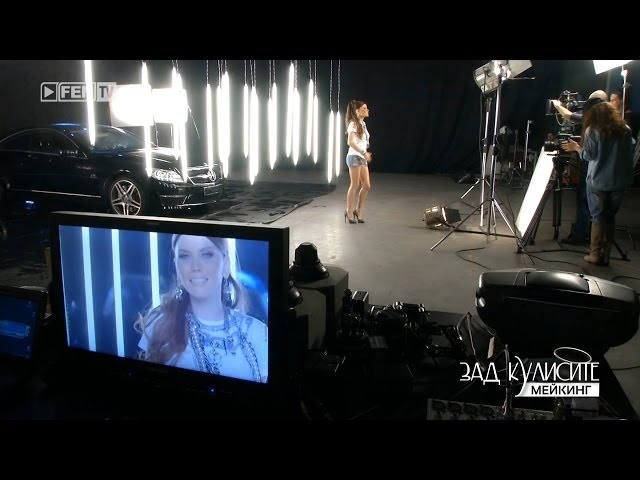 Teodora - Greshno-speshno [MAKING] FEN TV