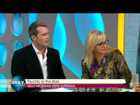 Psychic Sally on air prediction! The Daily Edition - Channel 7, Australia