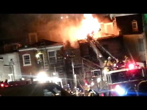 Raw video: Fatal 4-alarm fire in Md.
