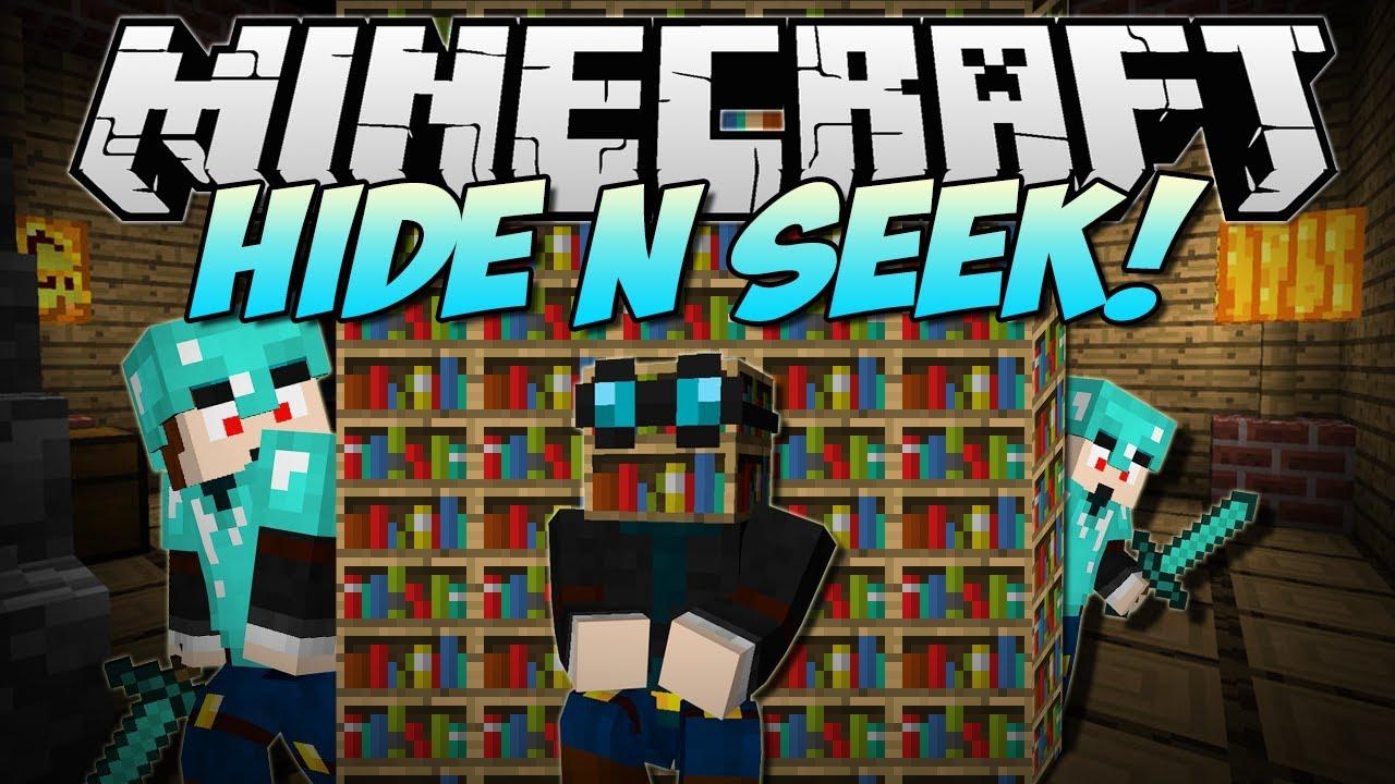 Minecraft HIDE N SEEK w/FaceCam Minigame YouTube