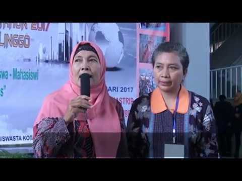 Ka. Cab Dinas Pendidikan Provinsi Jatim Kota Kab. Probolinggo Dalam Pameran Kampus 2017