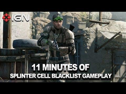 Splinter Cell: Blacklist на GamesCom 2012