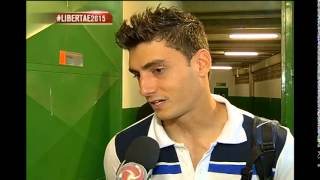 Mayke e Rafael contam como � assistir a Libertadores do banco de reservas