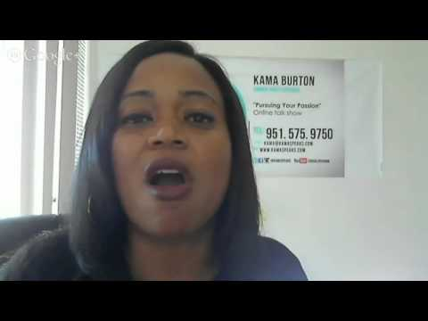 Pursuing Your Passion with Kama ~ Guest Rebecca Rush