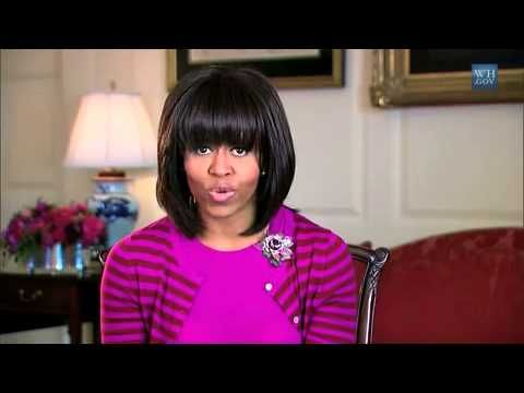 First Lady Michelle Obama Addresses MomsRising.org's Food Power Conference