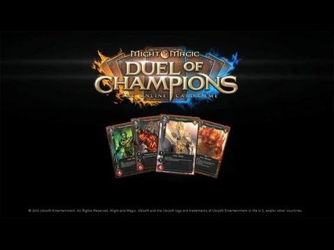 Might & Magic Duel of Champions - трейлер, первая информация и запись в бету