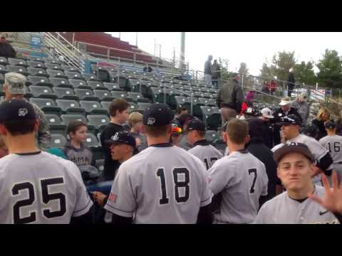 Cadet Flip Cam: Gunnar Carroll at the 2014 Hudson Valley Baseball Classic