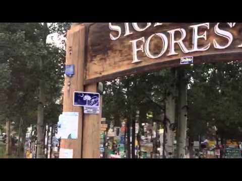 Yukon sign post