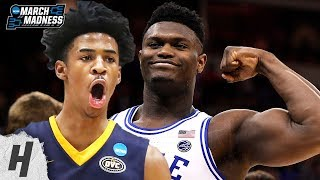 Best NCAA Plays - 1st Round | 2019 NCAA March Madness