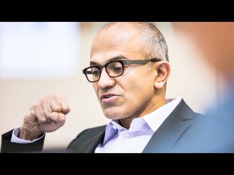 Who is Sataya Nadella?