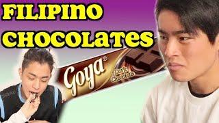 JAPANESE BROTHERS TRIES FILIPINO CHOCOLATES!!!!!