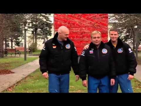 ISS Expedition 38/39 Crew Departs for Kazakh Russian Launch Site / NASA / JAXA / 720p HD